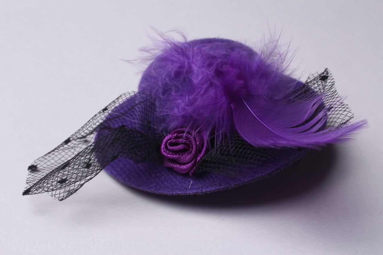 Заколка шляпка купить в магазине «Дом игрушек»